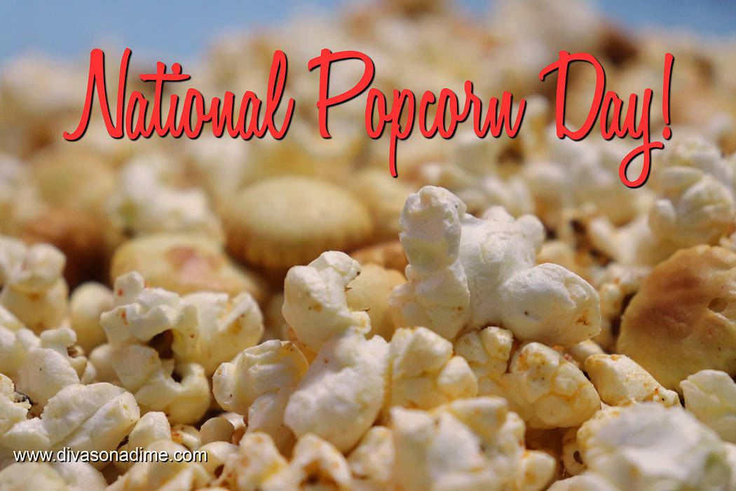Patti Diamond/Special to the Pahrump Valley Times To celebrate the National Popcorn Day, our columnist gives us 10 DIY gourmet-flavored popcorns. At mere pennies per serving, if there ever was a f ...