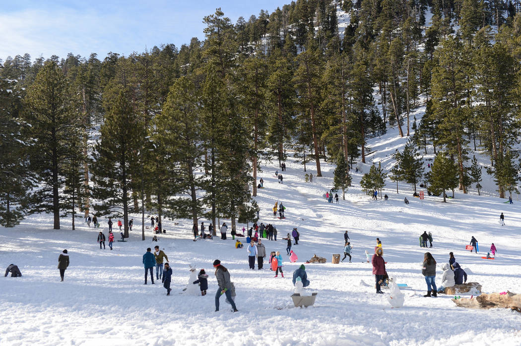 Special to the Pahrump Valley Times Lee Canyon will host competitive ski and snowboard events for kids Saturday. Anyone under 12 can compete by purchasing a single-day lift ticket to the resort an ...