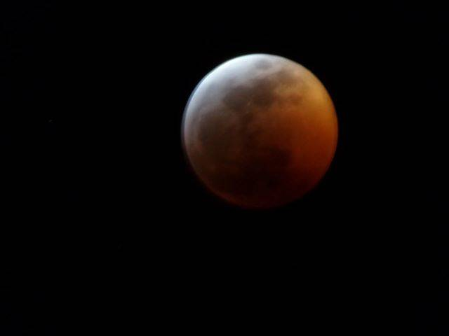 Kathy Nelson/Special to the Pahrump Valley Times Pahrump Valley Times' reader Kathy Nelson snapped this photo of the total lunar eclipse on Sunday. The next total lunar eclipse is pegged to happen ...