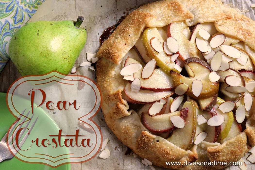 Patti Diamond/Special to the Pahrump Valley Times Except for Bartlett pears, nearly every other pear is in peak season through January and February. They are perfect for this dessert, a crostata, ...