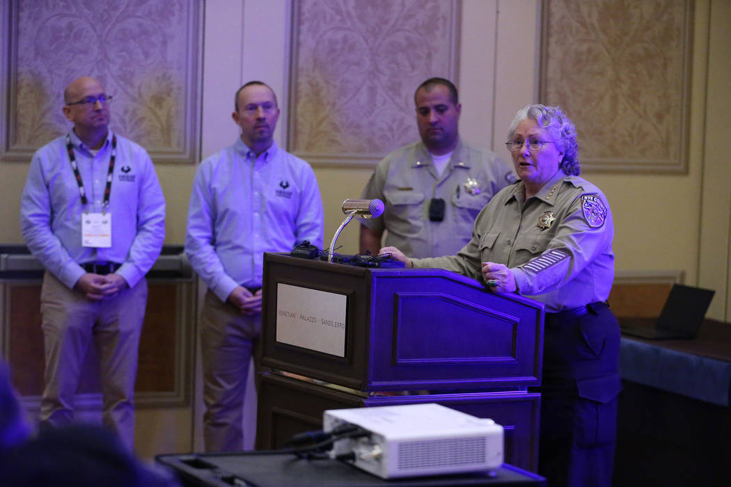 Nye County Sheriff's Office tests new equipment | Pahrump