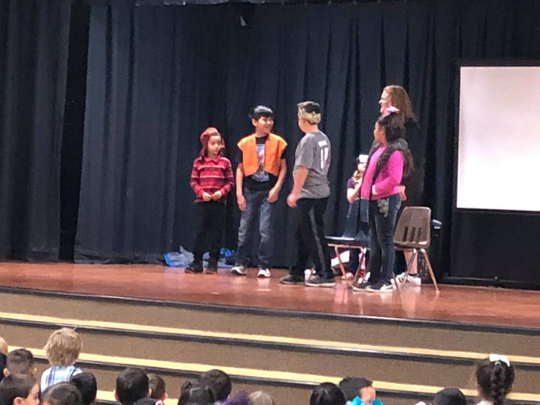 """Teresa Skye/Special to the Pahrump Valley Times Children gear up to perform """"Snow White & the Seven Dwarfs."""" The two performances are set for 2 p.m. and 5 p.m. on Saturday."""