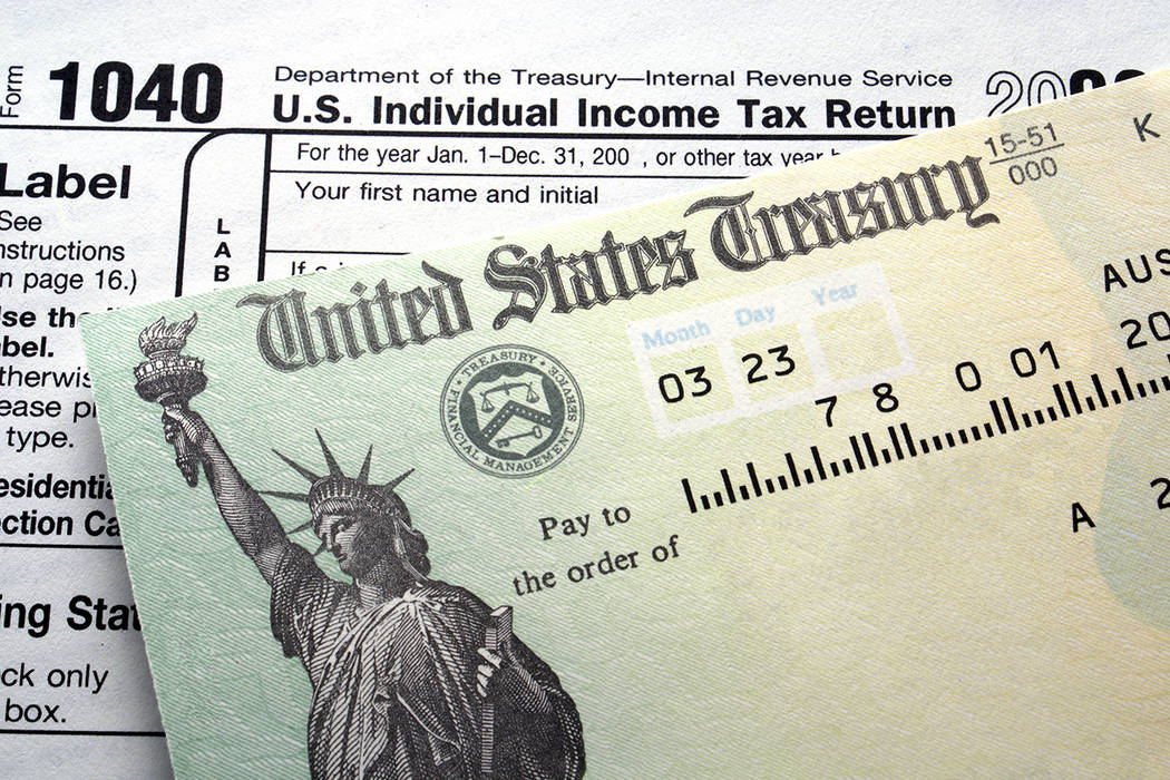 Thinkstock The IRS expects the first refunds to go out this week, and many refunds to be paid by mid- to late February like previous years.