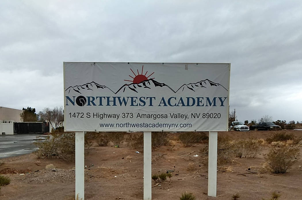 Selwyn Harris/ Pahrump Valley Times Aside from assault allegations at Northwest Academy, NCSO detectives learned of arsenic contamination within the facility's water system when students developed ...