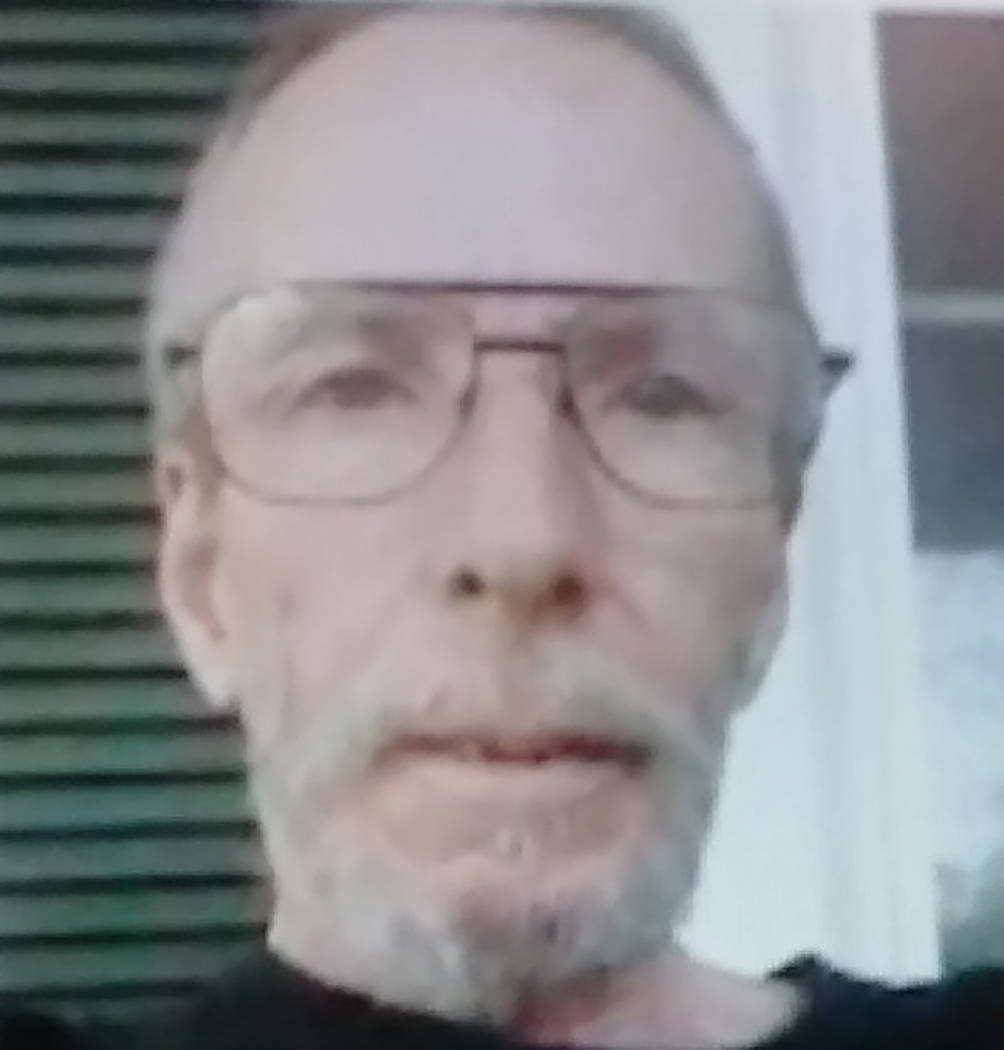 Special to the Pahrump Valley Times James Dean Remster was last seen in Tonopah back in early December. The 62 year-old had plans to board a bus for a trip to Tennessee at the time. Anyone with in ...