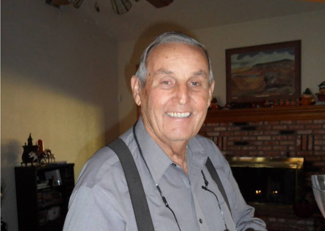 Submitted to the Pahrump Valley Times Hollis Harris died Jan. 19 at the age of 87.