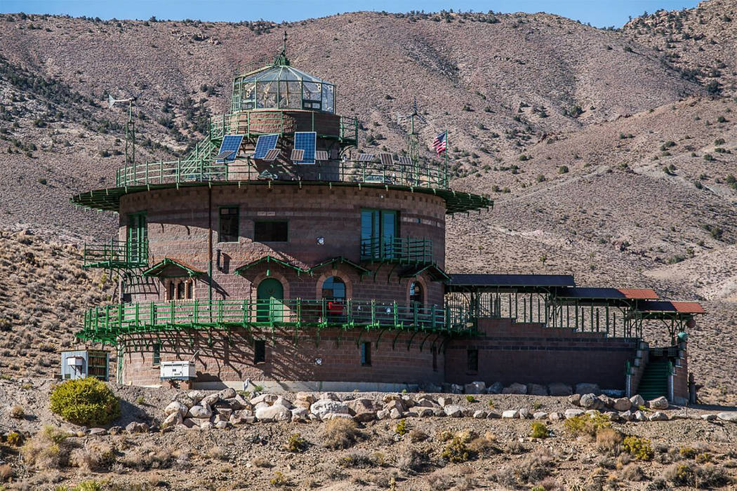 Special to the Pahrump Valley Times Hard Luck Castle is fortified four-story, 22 room, 8,000 sq ...