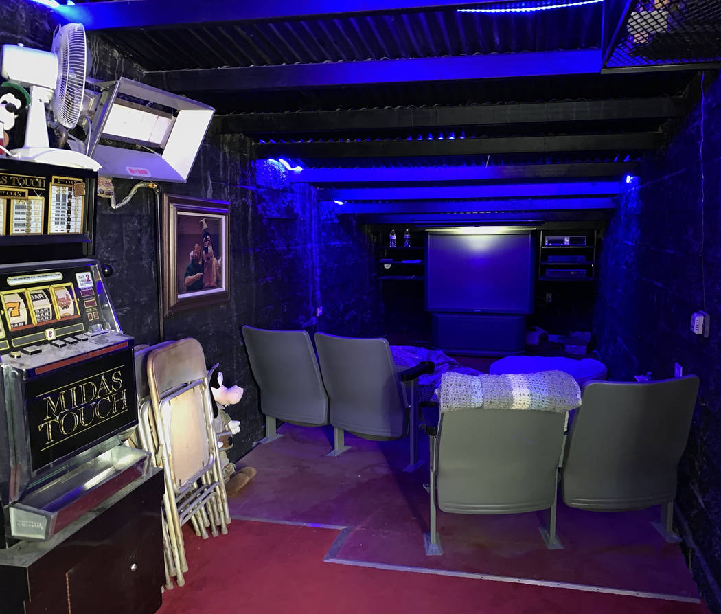 Special to the Pahrump Valley Times A screening and game room are yet another special feature o ...