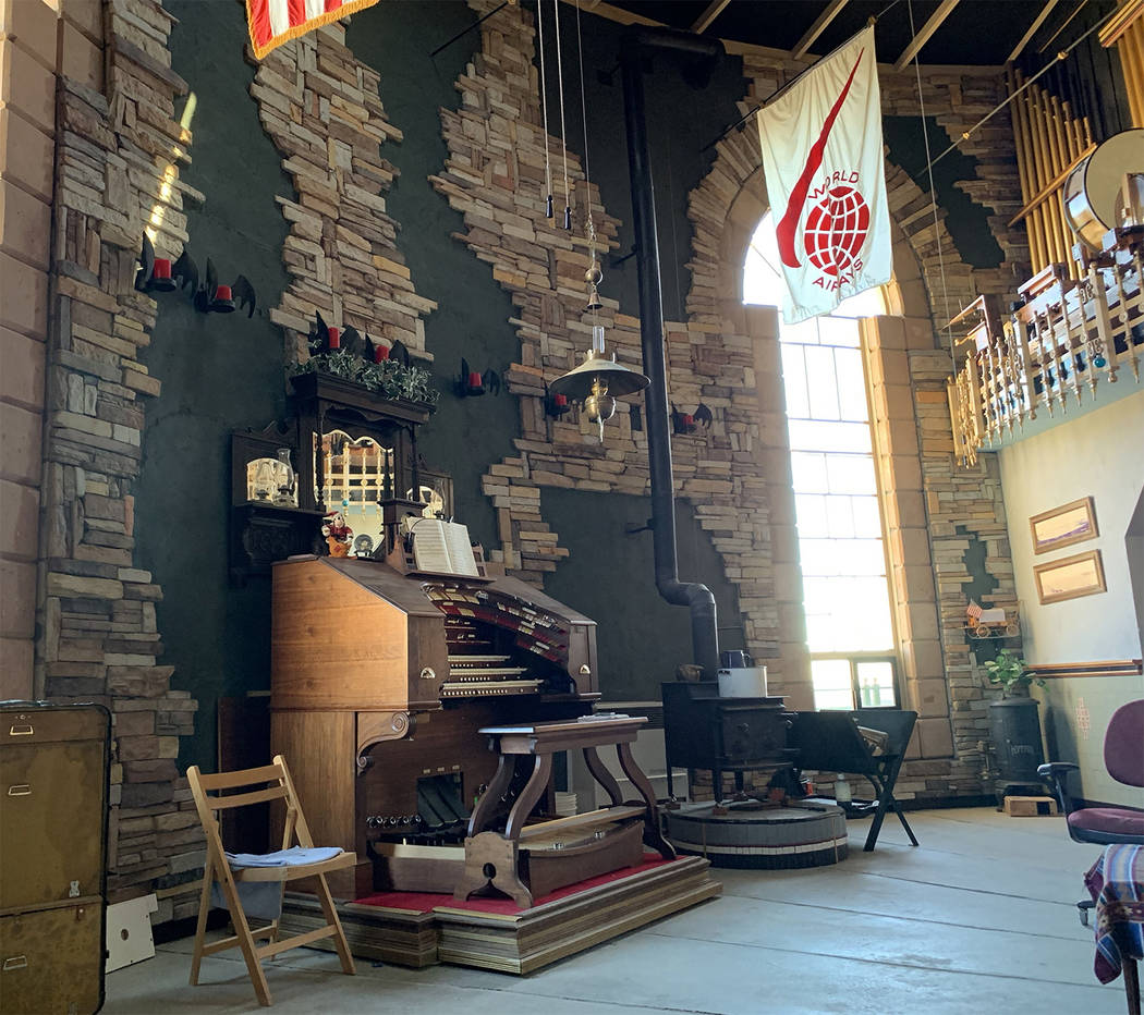Special to the Pahrump Valley Times Two fully-functional 1920's era pipe organs are one of th ...