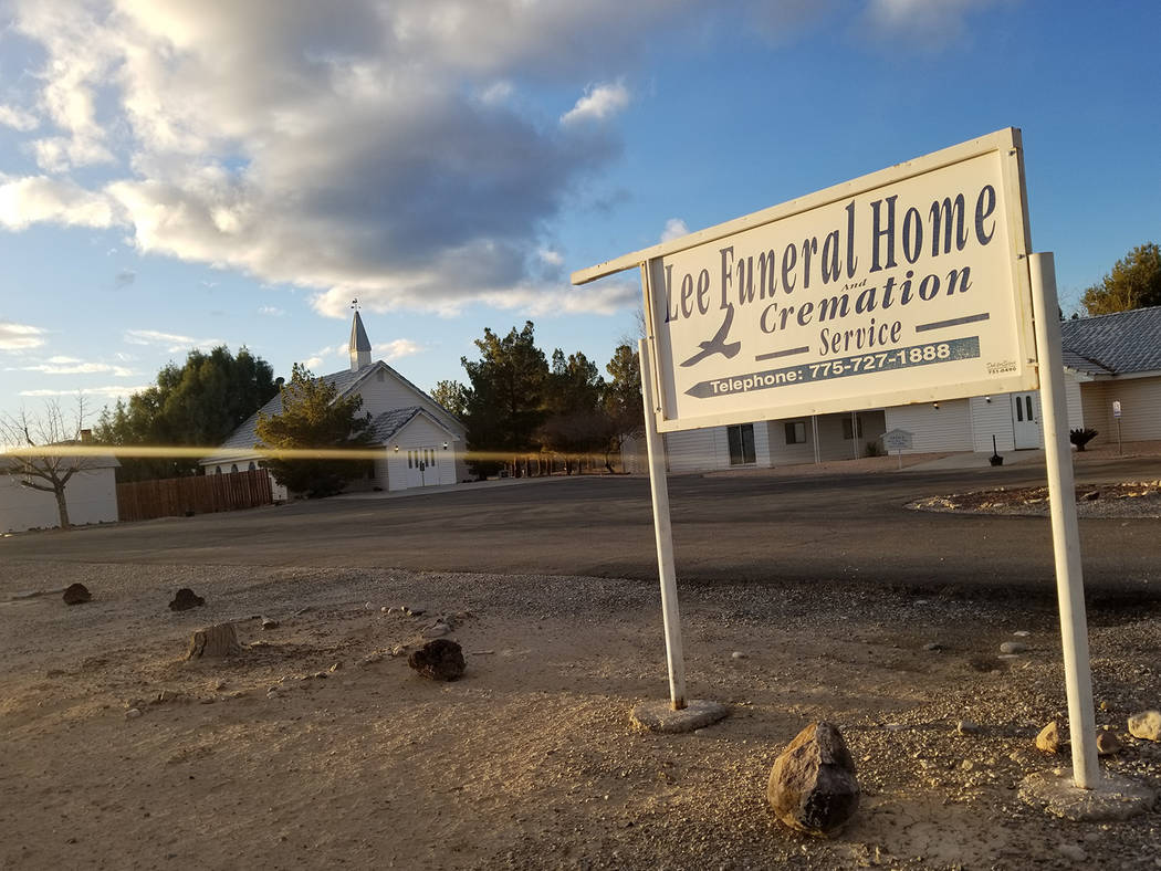 Special to the Pahrump Valley Times Father and son James and Eric Lee purchased the funeral home at 720 Buol Road back in 2002 when it was known as the Neptune Society of Nye County. In 2006, the ...