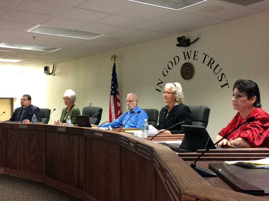 Robin Hebrock/Pahrump Valley Times The Nye County Commission received a sobering report during its first meeting in February, learning that the county is liable for millions upon millions of dolla ...