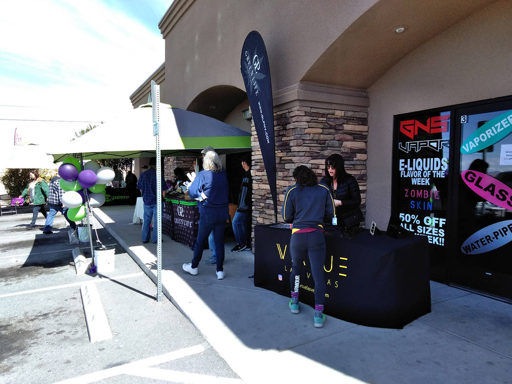 Selwyn Harris/Pahrump Valley Times Grove Manager Zach Wright has scheduled the first of a series of customer appreciation events beginning today from 12 to 8 p.m., The Grove is located at 1541 Ea ...