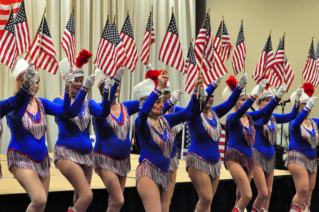 Horace Langford Jr. / Pahrump Valley Times The Nevada Silver Tappers are just one of the many performers that will take the stage on Feb. 23 during the VFW Auxiliary's USO Show.
