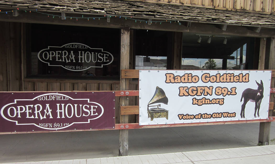 Special to the Pahrump Valley Times KGFN 89.1 FM Program Director Carl Brownfield said the station is hosting a fundraiser dinner show next month for upgrades to the station. Cost of the March 23r ...