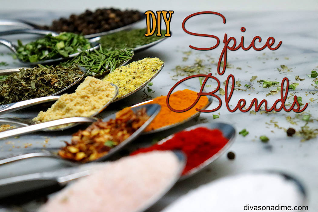 Patti Diamond/Special to the Pahrump Valley Times One great reason to make your own spice blends is you can control what your family is ingesting. Begin by picking up some basic herbs and spices t ...