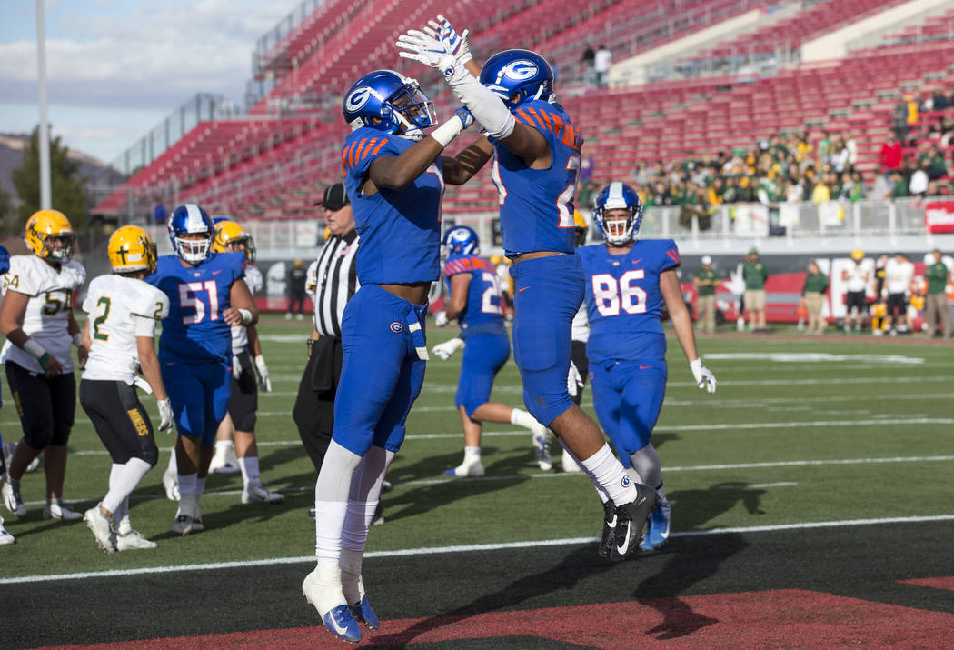 Richard Brian/Las Vegas Review-Journal Sam Boyd stadium was the site of the Class 4A football championship in December between Bishop Gorman and Bishop Manogue and will be the site of the first Al ...