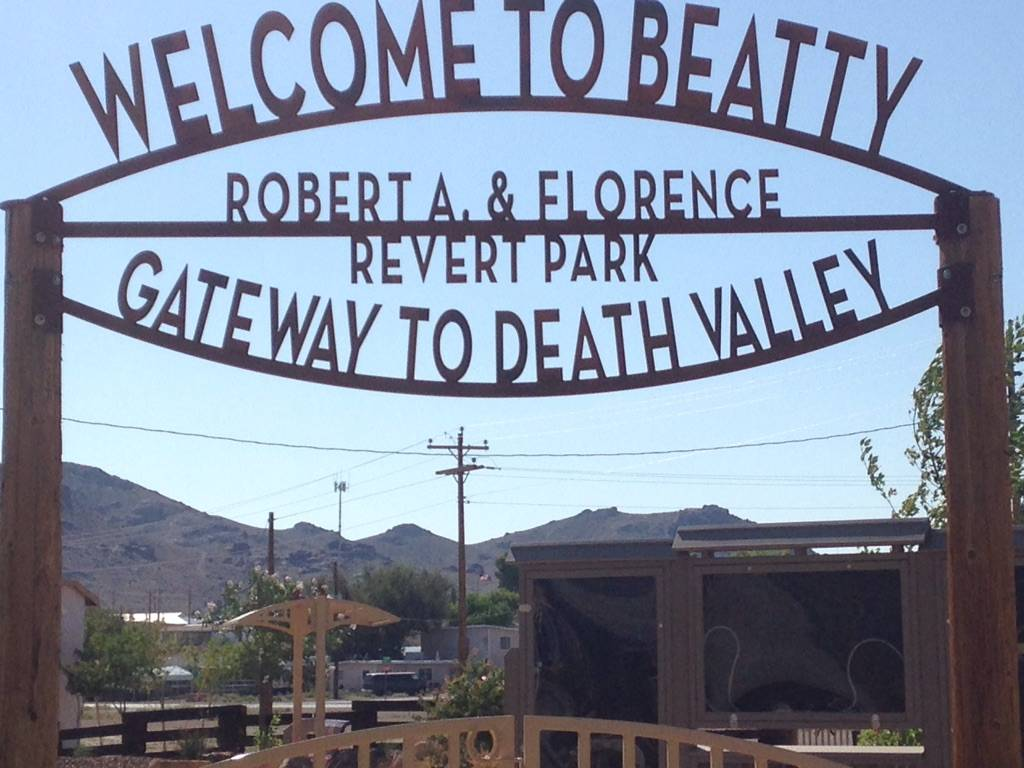 James Revert/Special to the Pahrump Valley Times file The town's officials maintain good relationships with the companies that conduct gold exploration in the Beatty region, the town treasurer said.