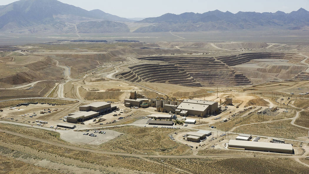 Overview of the Barrick Gold Corp. mine complex in Nevada. (Barrick Gold of North America)