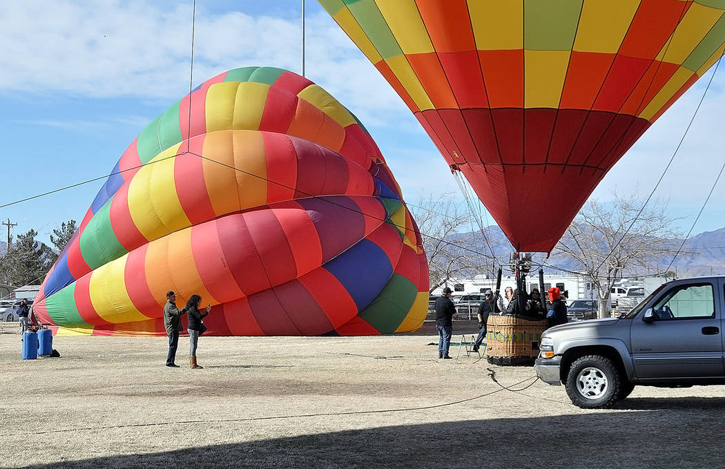 Horace Langford Jr./Pahrump Valley Times The Pahrump Balloon Festival took place Feb. 22 through 24 with colorful, hot air balloons taking to the sky all weekend long.