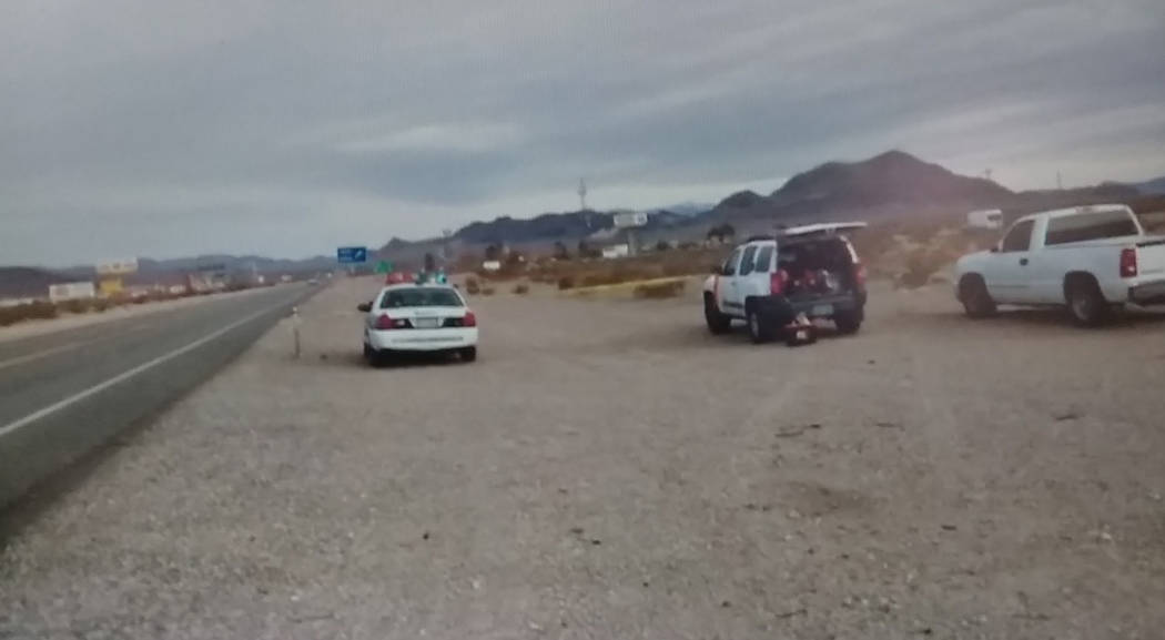 Special to the Pahrump Valley Times On Friday March 1, the body of a black male adult discovered on the west side of Highway 95 just north of State Route 373. The Nye County Sheriff's Office is tr ...
