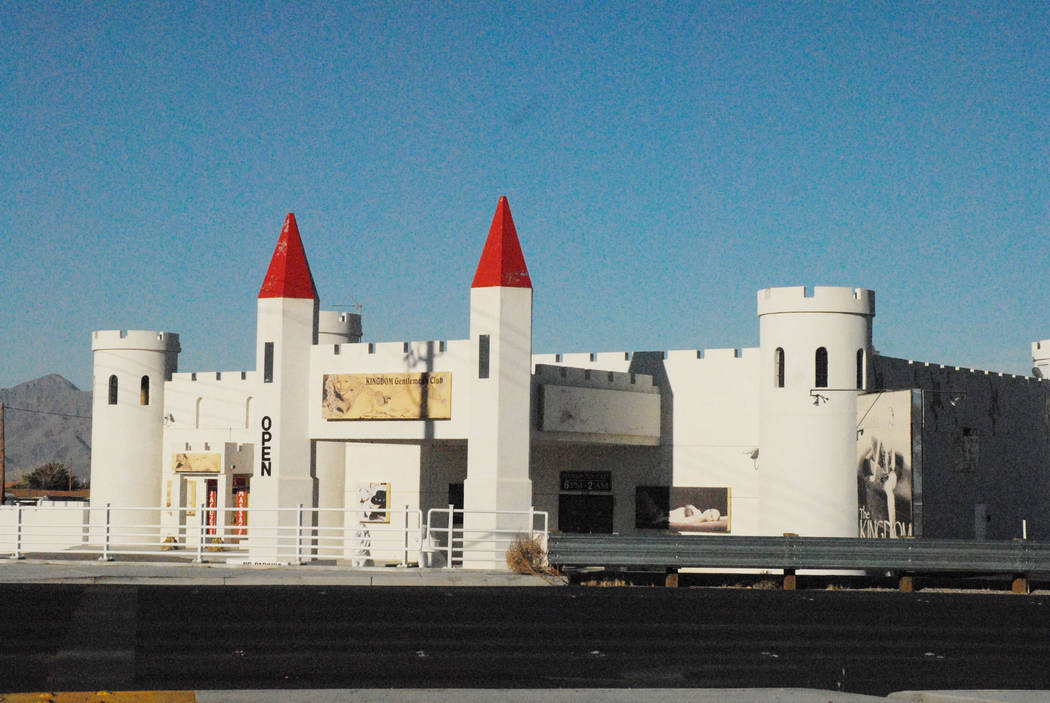 Horace Langford Jr. / Pahrump Valley Times The former site of the once Kingdom Gentlemen's Club is set for demolition. The current owners are looking to redevelop the site.