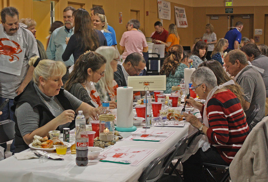 Robin Hebrock/Pahrump Valley Times Diners are shown enjoying their meals.