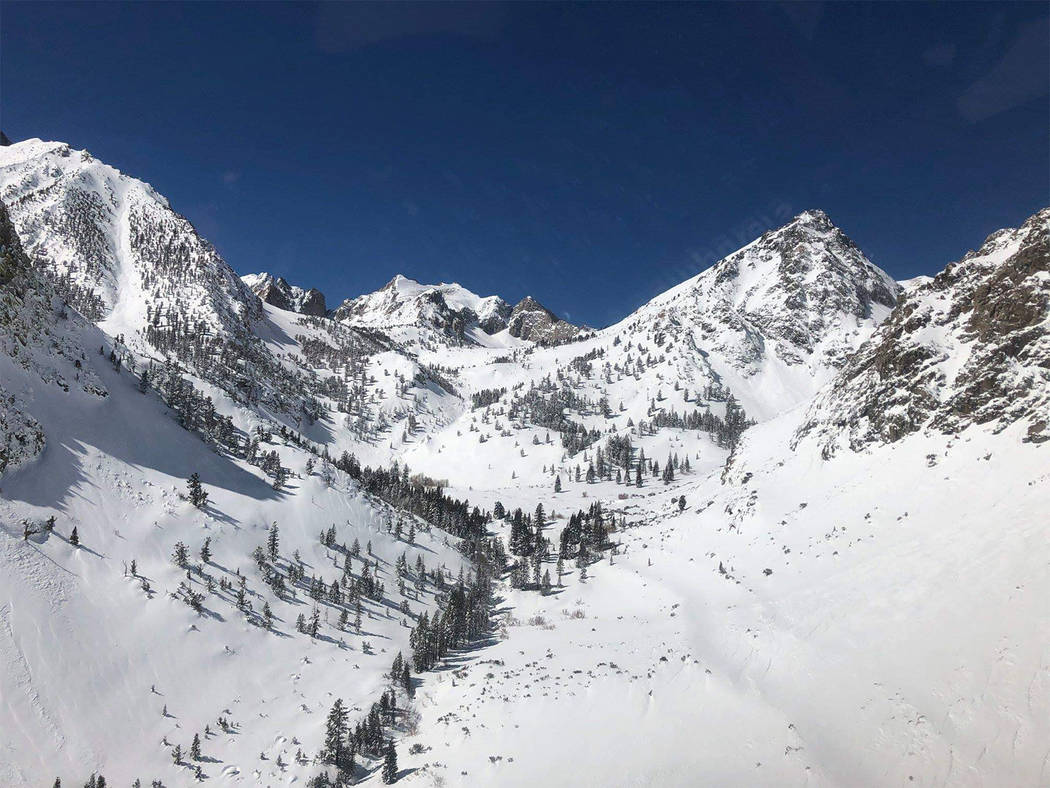 Special to the Pahrump Valley Times Lt. Kraft's itinerary was the Sierra High Route, which included hiking out of Kearsarge Pass on Feb 24th and hiking out near the Twin Lakes area by Bridgeport ...