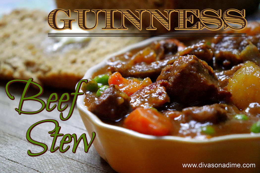 Patti Diamond / Special to the Pahrump Valley Times The thing that sets Ireland's stew apart is the addition of stout beer, namely Guinness Stout. The alcohol evaporates, leaving a rich and robu ...