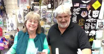 Selwyn Harris/Pahrump Valley Times After five years doing business in Pahrump, G.I. USA owners Cindi and George Vroenen are retiring. As such, merchandise in the store located at 150 S. Highway 16 ...