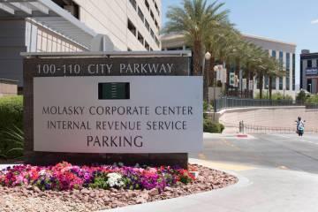 The IRS office at 110 N. City Pkwy. in Las Vegas, Thursday, May 19, 2016. Jason Ogulnik/Las Vegas Review-Journal