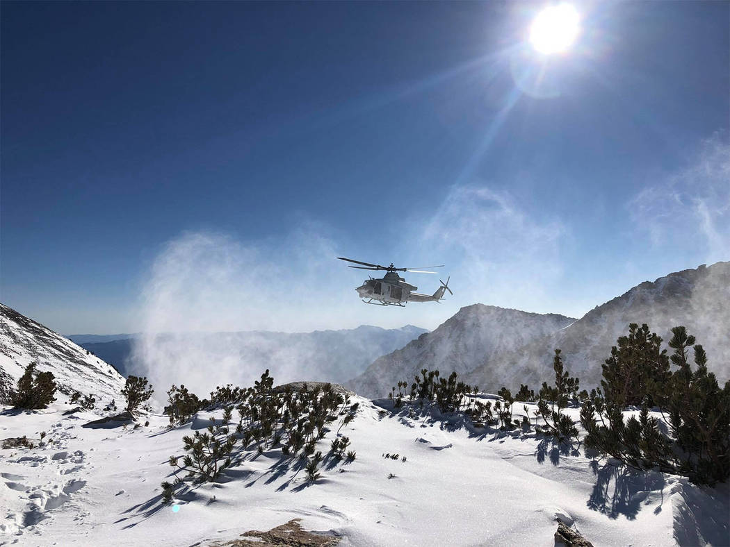 Special to the Pahrump Valley Times The search for the missing U.S. Marine Corps Lt. in Central Sierra Nevada will continue, albeit on a scaled back mode according to authorities. Matthew Kraft, a ...