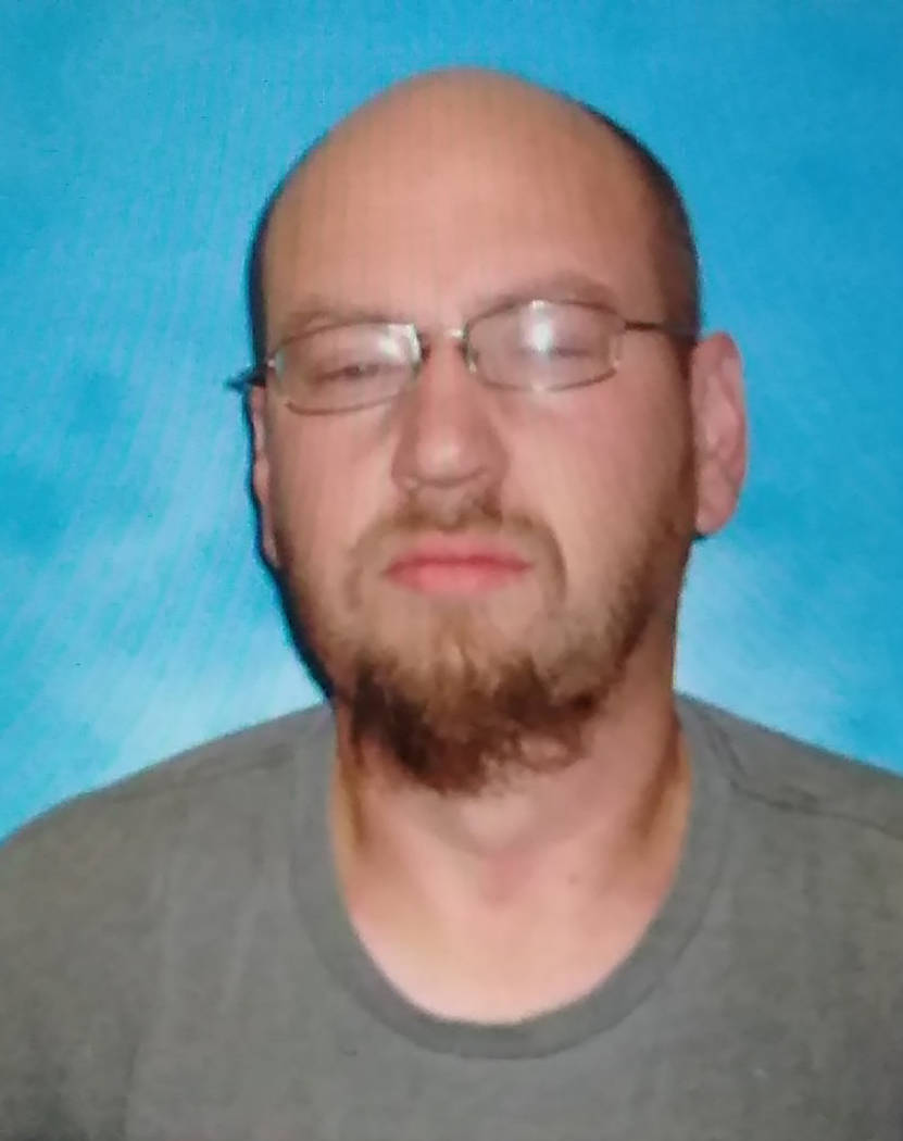 Special to the Pahrump Valley Times Tonopah resident Jeremy Burch, 46, was arrested in Amarillo Texas on Sunday, March 17.
