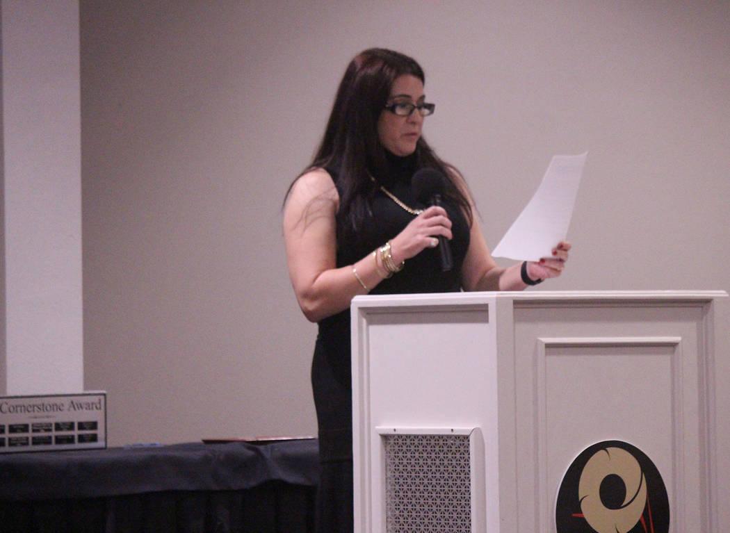 Jeffrey Meehan/Pahrump Valley Times Melissa Decker-Gebhart, interim executive director of the ...