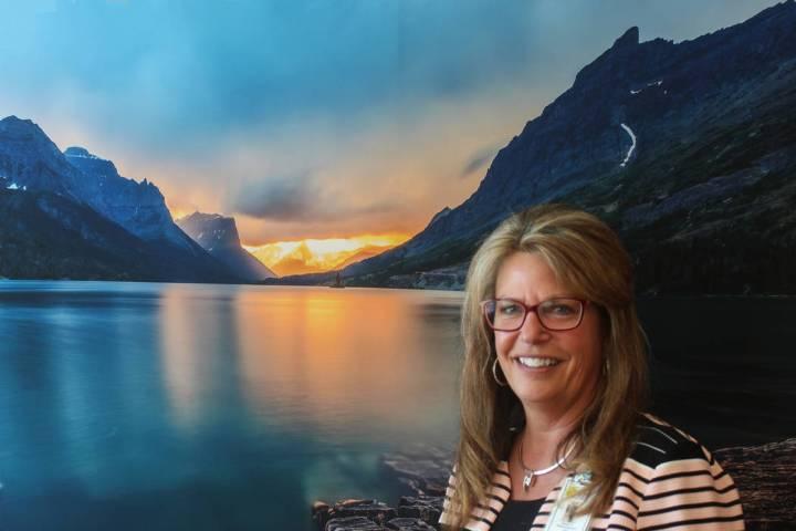 Jeffrey Meehan/Pahrump Valley Times Susan Davila, CEO of Desert View Hospital in Pahrump stands ...
