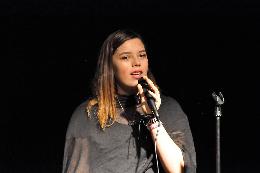 Horace Langford Jr./Pahrump Valley Times During the March 26 Choral Spring Concert at Pahrump ...