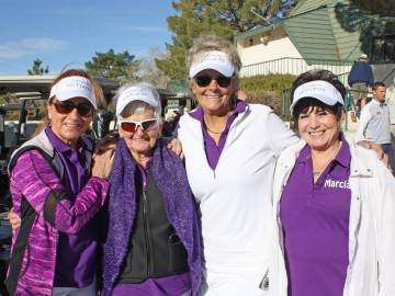 Robin Hebrock/Pahrump Valley Times Pictured from left to right are Robyn Butler, B.J. Hetrick-I ...