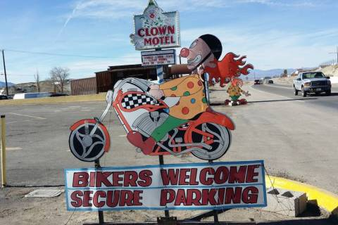 Special to the Pahrump Valley Times Clown Motel, one of the main landmarks in Tonopah located n ...