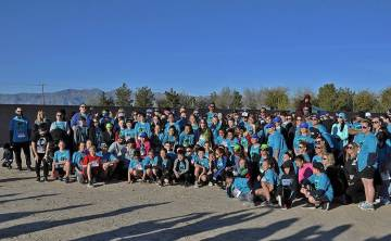 Horace Langford Jr./Pahrump Valley Times The winner of this year's HOPE Run/Walk HOPE Cup was t ...