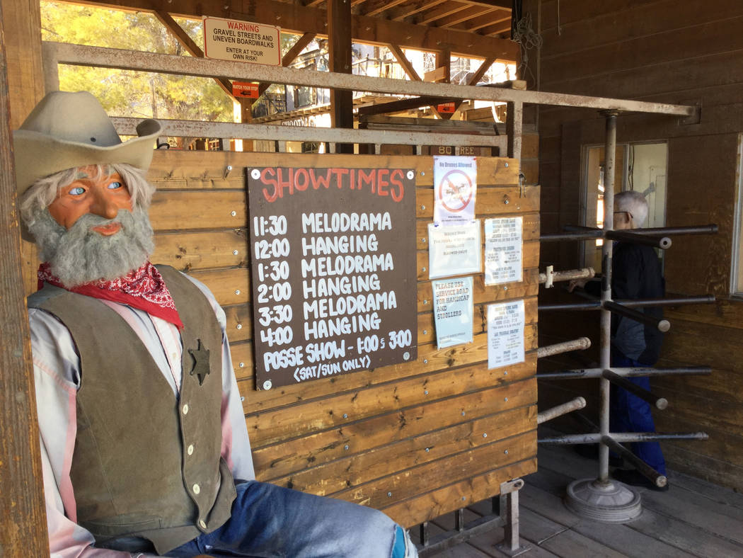 Bonnie Springs Ranch, Jan. 9, 2019. (Eli Segall/Las Vegas Review-Journal)