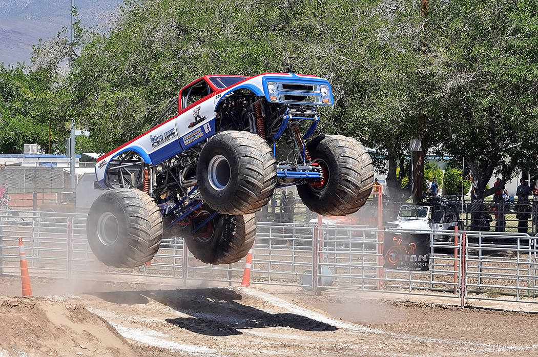 Horace Langford Jr./Pahrump Valley Times The Monster Truck Insanity Tour will return to Pahrump ...