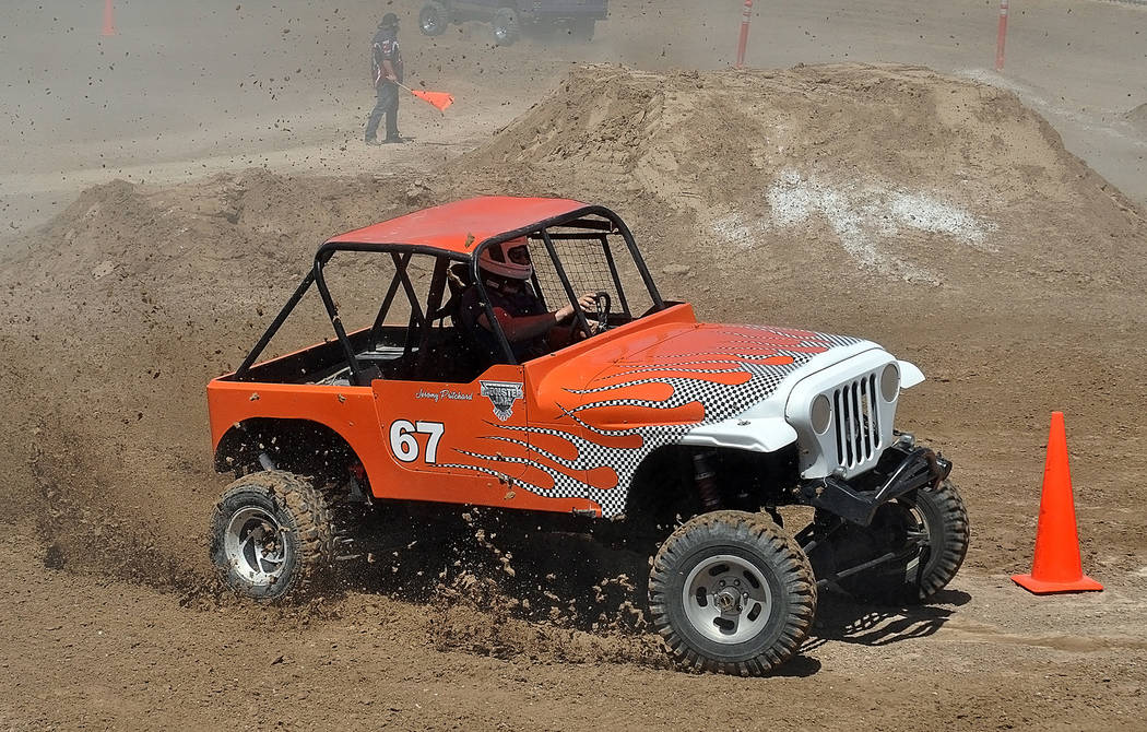 Horace Langford Jr./Pahrump Valley Times Jeromy Pritchard in freestyle racing during last year' ...