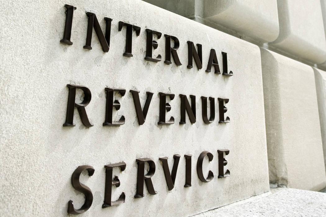 Thinkstock Internal Revenue Service building.