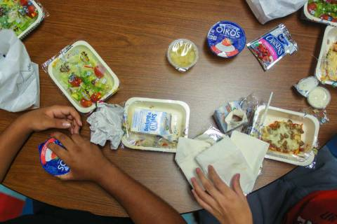 Las Vegas Review-Journal Nye County schools released its menu for the upcoming week.