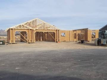 David Jacobs/Pahrump Valley Times New homes and new residents will also help attract more servi ...