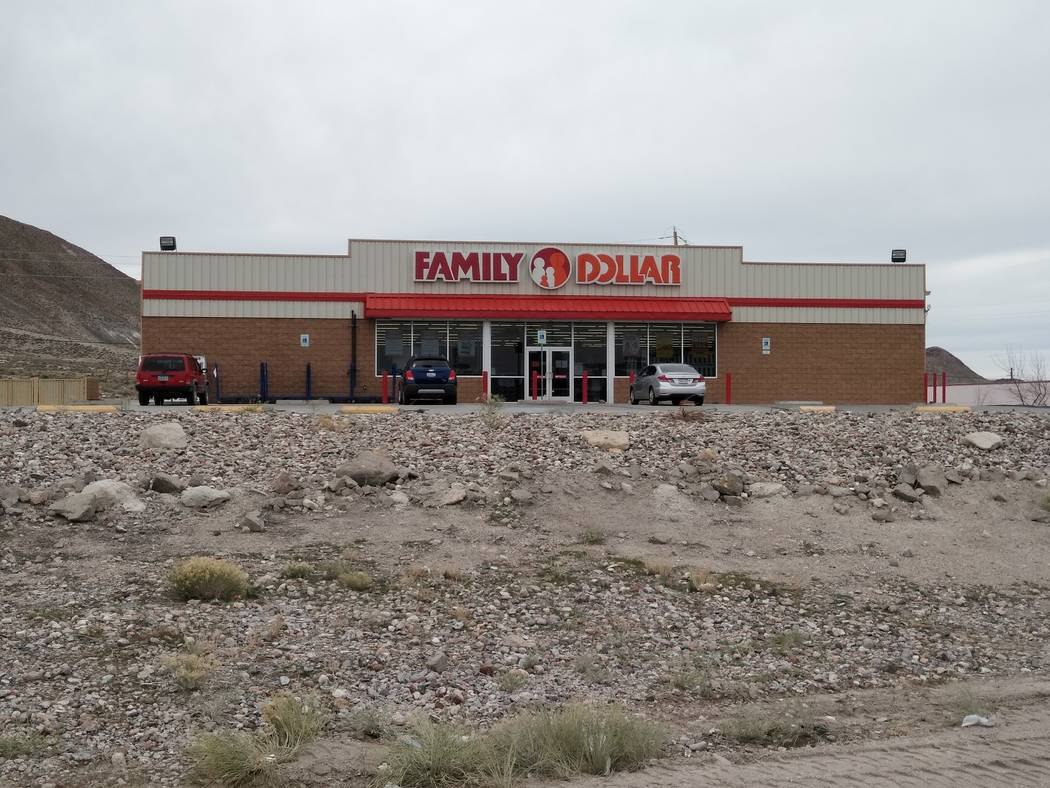 Nancy Whipperman/Times-Bonanza & Goldfield News The parking lot of the Family Dollar in Tonopah ...