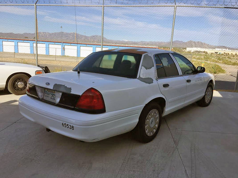 Special to the Pahrump Valley Times This is just one of the Nye County Sheriff's Office vehicle ...