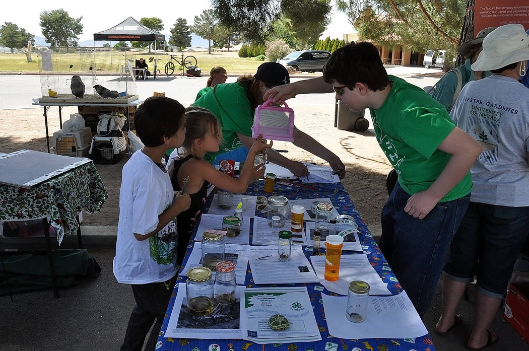 Horace Langford Jr. / Pahrump Valley Times In this file photo, children are shown participatin ...