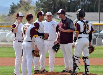 Horace Langford Jr./Pahrump Valley Times Pahrump Valley baseball coach Brian Hayes' team went 3 ...