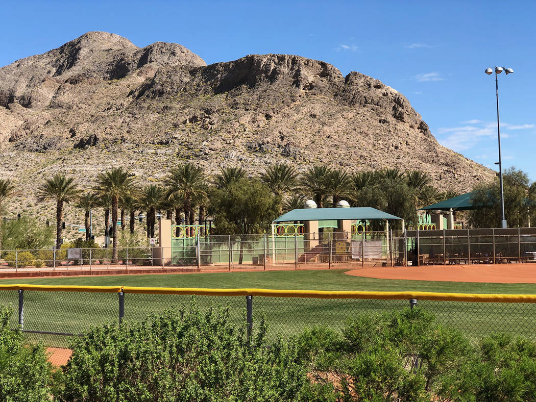 Tom Rysinski/Pahrump Valley Times Majestic Park was the setting for the Centennial Spring Jambo ...