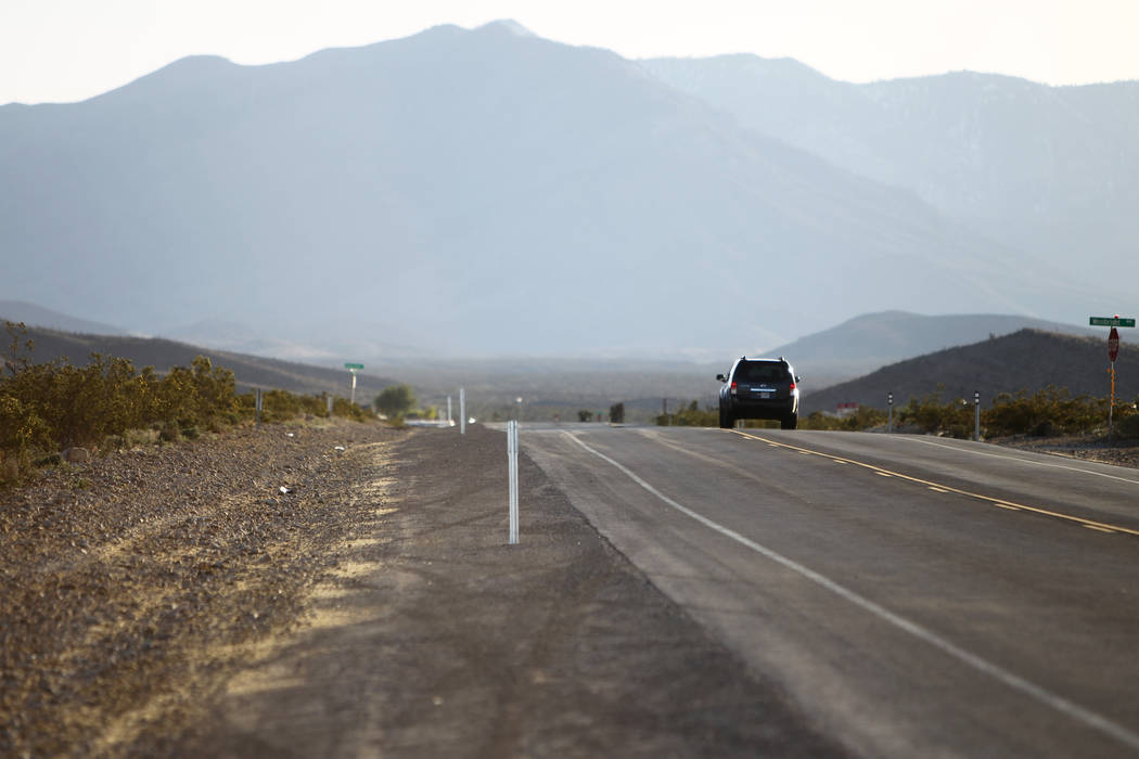 Erik Verduzco/Las Vegas Review-Journal Kyle Canyon Road in Las Vegas is seen in 2015. Revel Mou ...